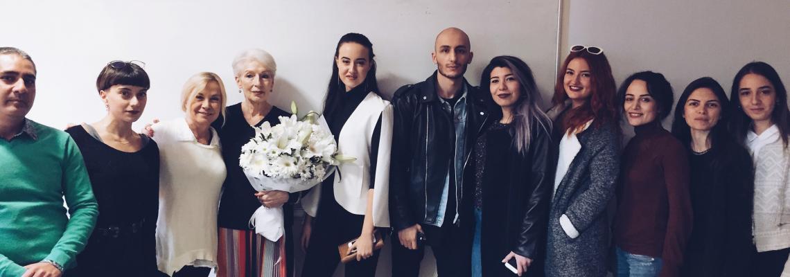 Moda ve Tekstil Tasarımı Bölümü dünyaca ünlü küratör, yazar, eğitimci, Cristina Dosio Morozzi'yi ağırladı...