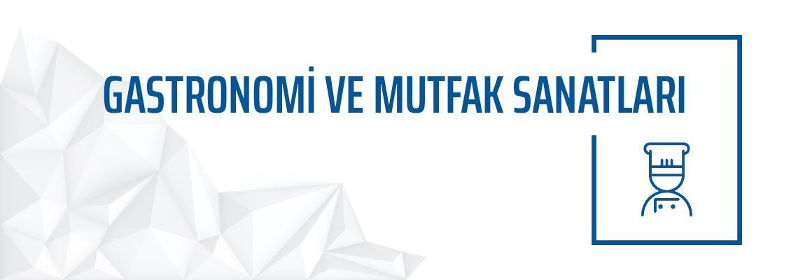 Gastronomi ve Mutfak Sanatları Bölümü Yeditepe Üniversitesi Güzel Sanatlar Fakültesi